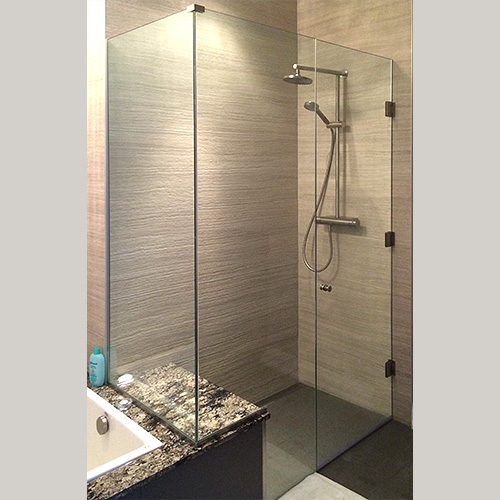 Framles Glas Shower